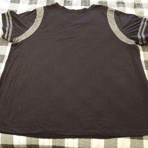 Hybrid Tops - Sassy black T shirt 3X Bossy Queen Hybrid